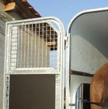 Schutzgitter für Fohlentransport